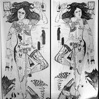 Flavia Nasrin Testa Medusa and Monster 2018.JPG