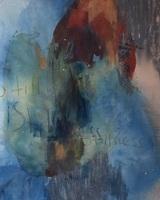 Stillness, 2014, 91.4x111.8cm, acrylic and graphite on unprimed canvas, Luciana Rosado.jpg